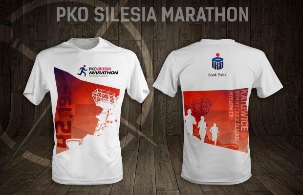 Oficjalna koszulka na Silesia Marathon 2015