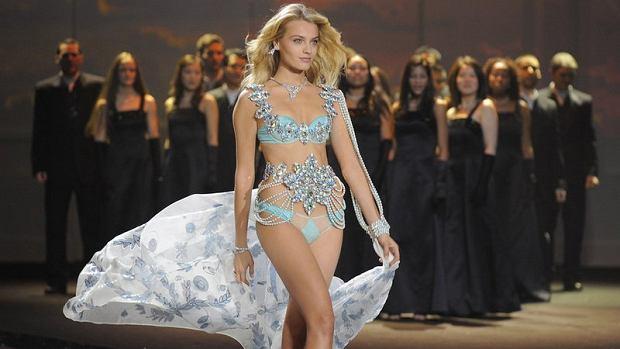 Ania w pokazie Victoria's Secret