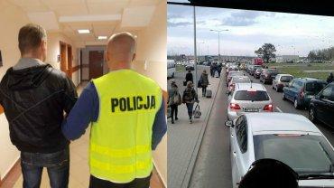 Mieszkaniec Starachowic podejrzany o wywołanie alarmu bombowego w Modlinie