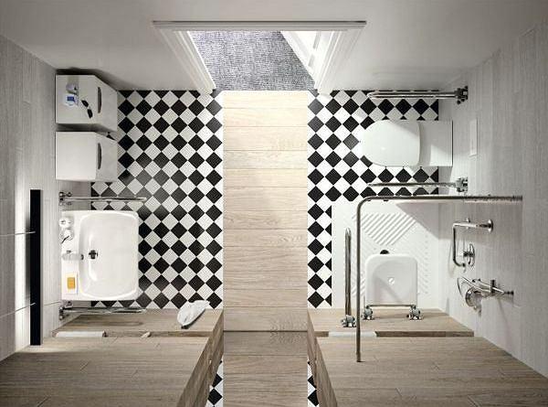 łazienka Dla Niepełnosprawnych Wymiary Wyposażenie I