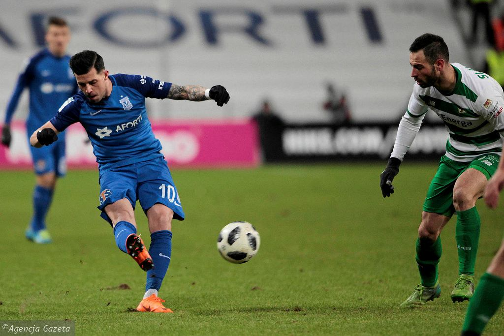 Lech Poznań - Lechia Gdańsk 3:0. Darko Jevtić