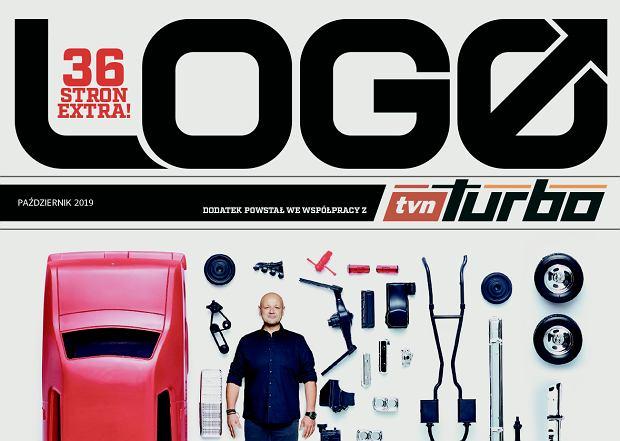 Magazyn 'Logo', okładka dodatku TVN Turbo - październik 2019