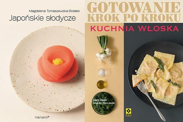 """""""Gotowanie krok po kroku: Kuchnia Włoska"""" oraz """"Japońskie słodycze"""""""