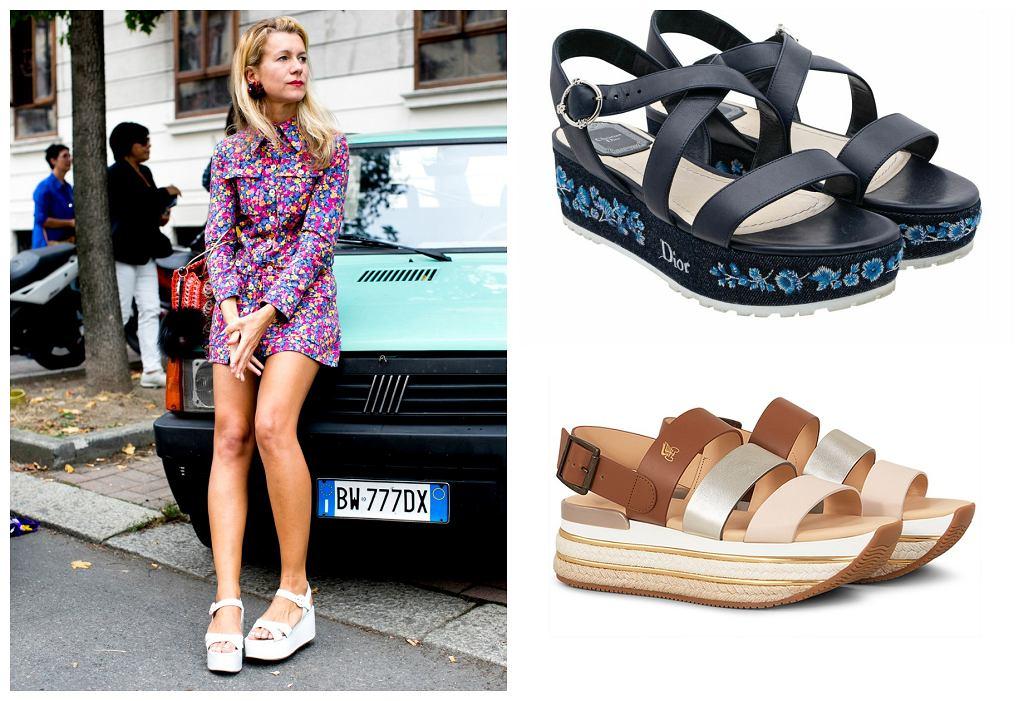 stylowe sandały