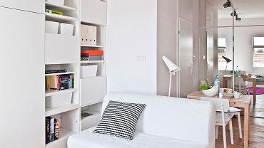 Małe mieszkania stanowią zawsze wyzwanie, jeśli chodzi o funkcjonalny i wygodny projekt.