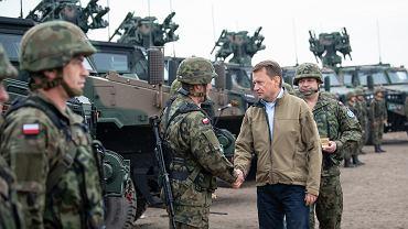 Minister Błaszczak na uroczystości przekazania nowych systemów przeciwlotniczych bardzo krótkiego zasięgu Poprad