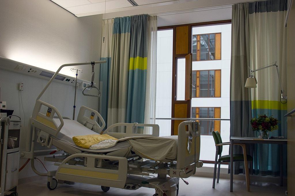 Łóżko szpitalne