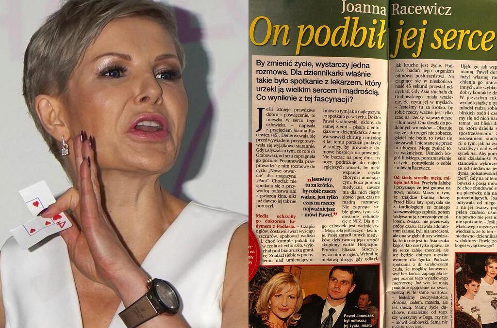 Joanna Racewicz / artykuł z tygodnika 'Dobry tydzień'