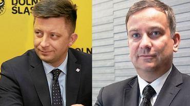 Michał Dworczyk i Marcin Gwóźdź