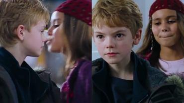Thomas Sangster i Olivia Olson w 'To właśnie miłość'
