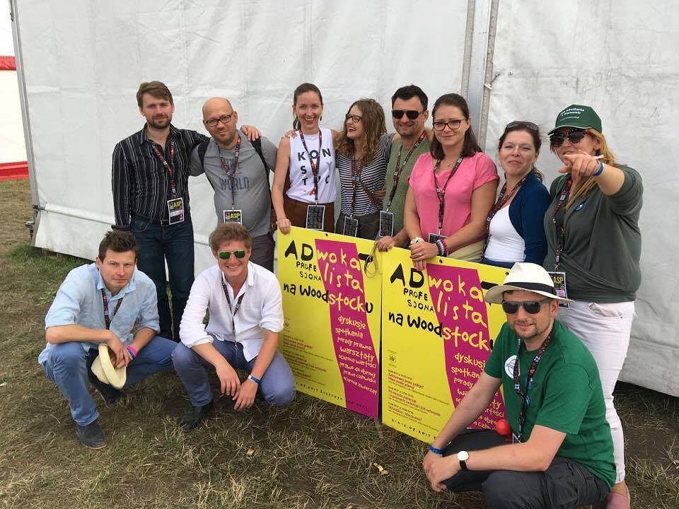 Adwokaci pojechali na Woodstock