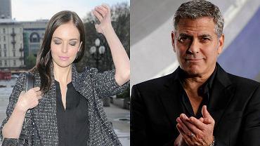 Anna Wendzikowska, George Clooney