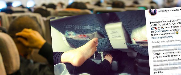 Stewardessa o najgorszych nawykach pasażerów: Brudne, gołe stopy i włosy w jedzeniu. Pokazuje to na zdjęciach