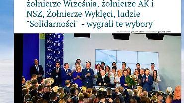 """Tekst Jacka Karnowskiego w portalu """"wPolityce.pl"""""""