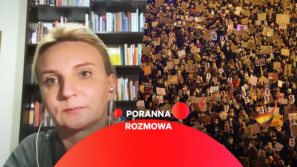 Agnieszka Ścigaj gościnią Porannej rozmowy Gazeta.pl