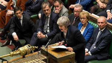 Głosowanie ws. umowy brexitowe w brytyjskim parlamencie