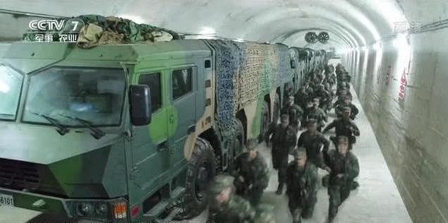Wielki Mur Chiński, ale nowy i pod ziemią dla broni jądrowej
