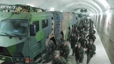 Ćwiczenia w jednym z tuneli