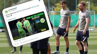 Kibice VfL Wolfsburg zadrwili z Bartosza Białka