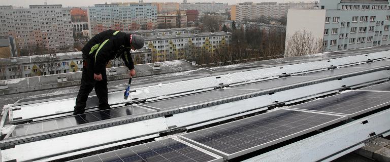 100 mln zł dla spółdzielni i wspólnot na panele słoneczne w Poznaniu