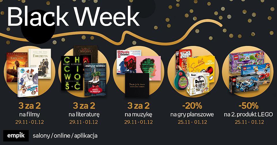 Promocje Empiku z okazji Black Week