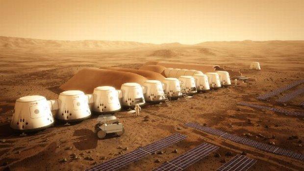 Tak ma wyglądać ludzka kolonia na Marsie wg założeń prywatnego projektu