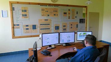 Sterownia - czyli serce stacji uzdatniania wody. Od momentu filtrowania piaskowego cały proces jest zautomatyzowany