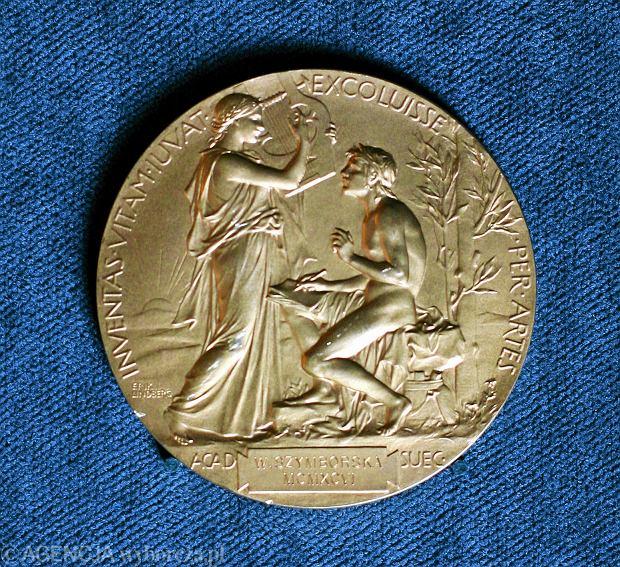 Medal Nobla dla Wisławy Szymborskiej