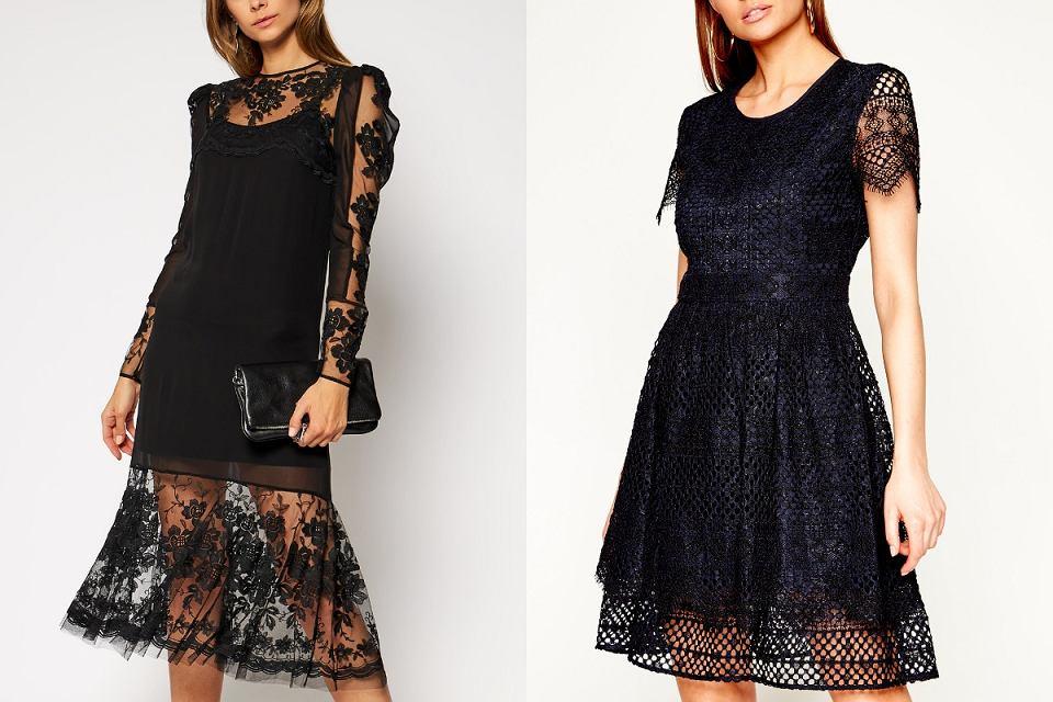 Sukienki koronkowe
