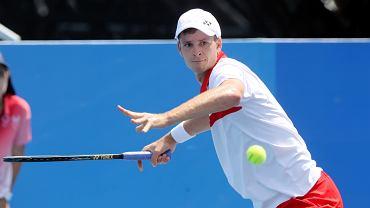 Hubert Hurkacz zagra w finale turnieju ATP w Metz