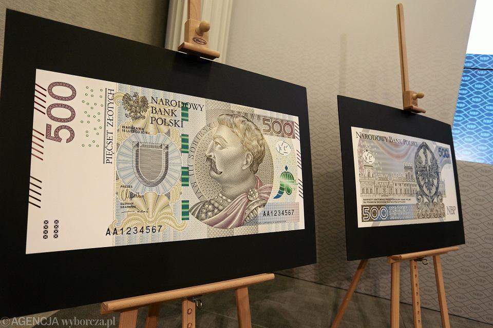Zdjęcie numer 3 w galerii - Banknot 500 zł już od 10 lutego. Ale nie tak łatwo będzie na niego trafić