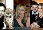 Szczęśliwa Shakira, Skrzynecka w masce i przerażona Olejnik. Tak gwiazdy świętowały Nowy Rok!