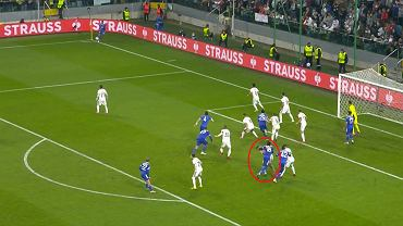 Kontrowersyjna sytuacja w meczu Legia Warszawa - Leicester City