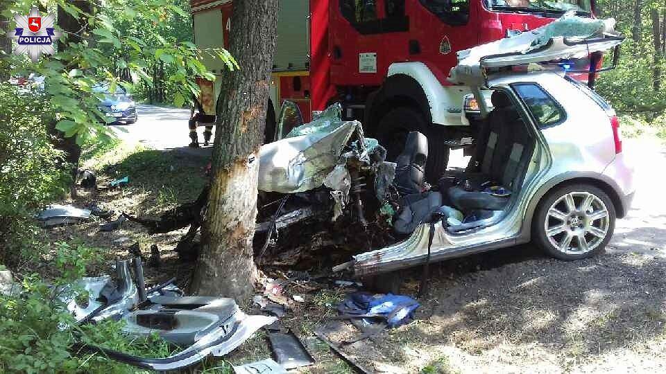 Wypadek w Janowie Lubelskim