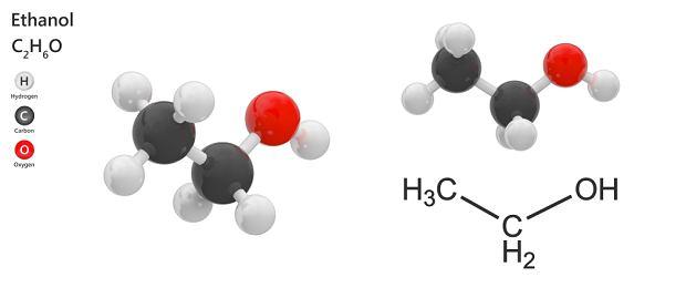 Etanol - właściwości, zastosowanie alkoholu etylowego
