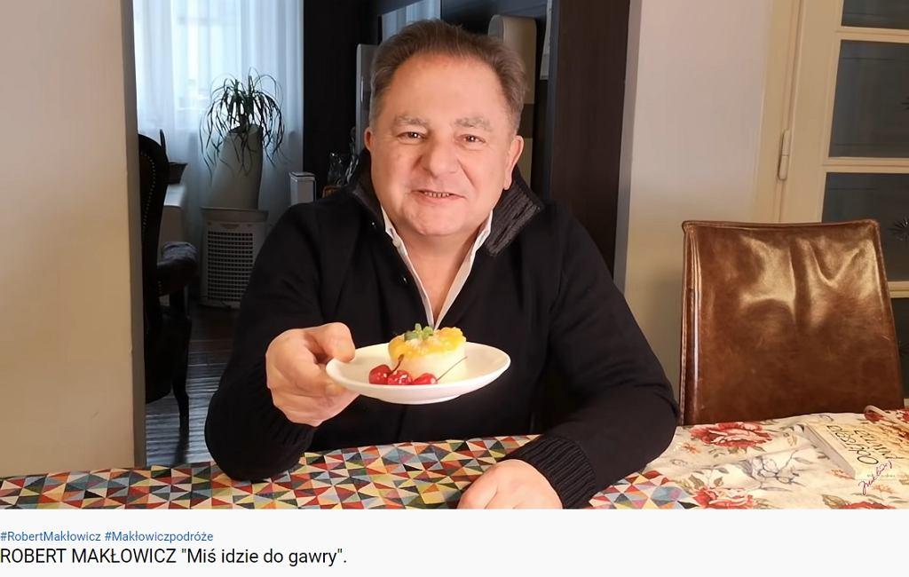 Makłowicz ogłasza krótką przerwę na Youtubie. Fani: Chętnie obejrzę jak Pan gotuje choćby wodę na herbatę