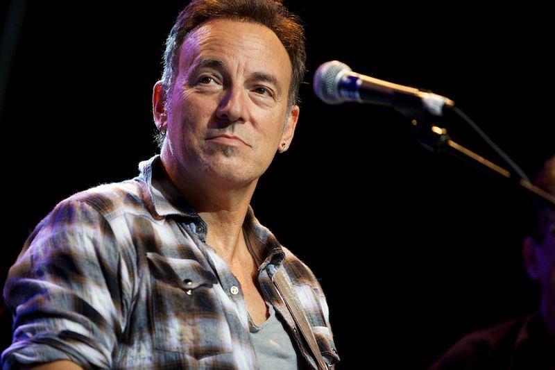 Bruce Springsteen podczas jednego z koncertów.