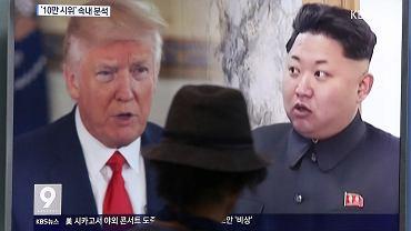 Donald Trump i Kim Dżong Un