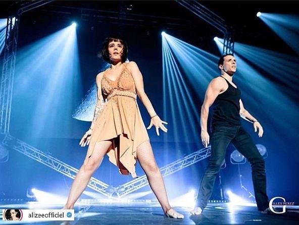 Alizee w tańcu