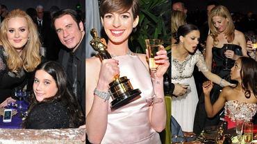 Ann Hathaway, John Travolta, Adele