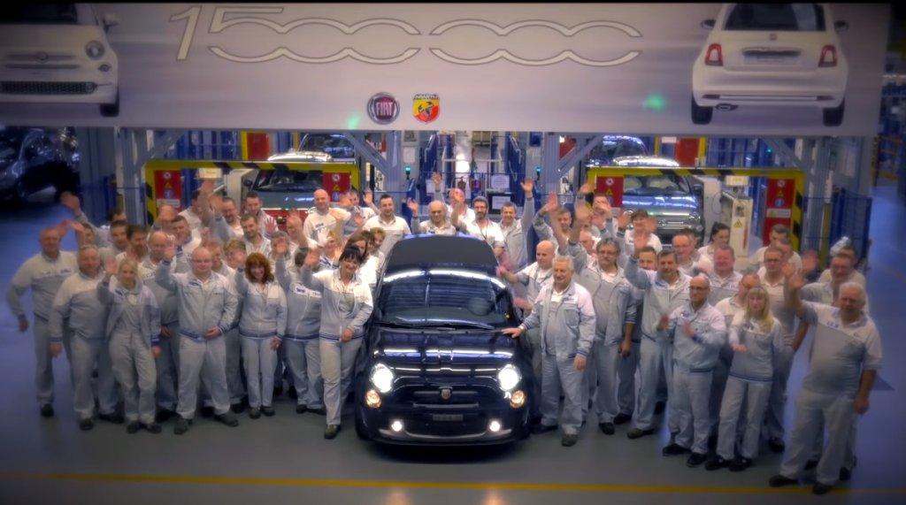 Świąteczne życzenia od pracowników fabryki Fiata w Tychach