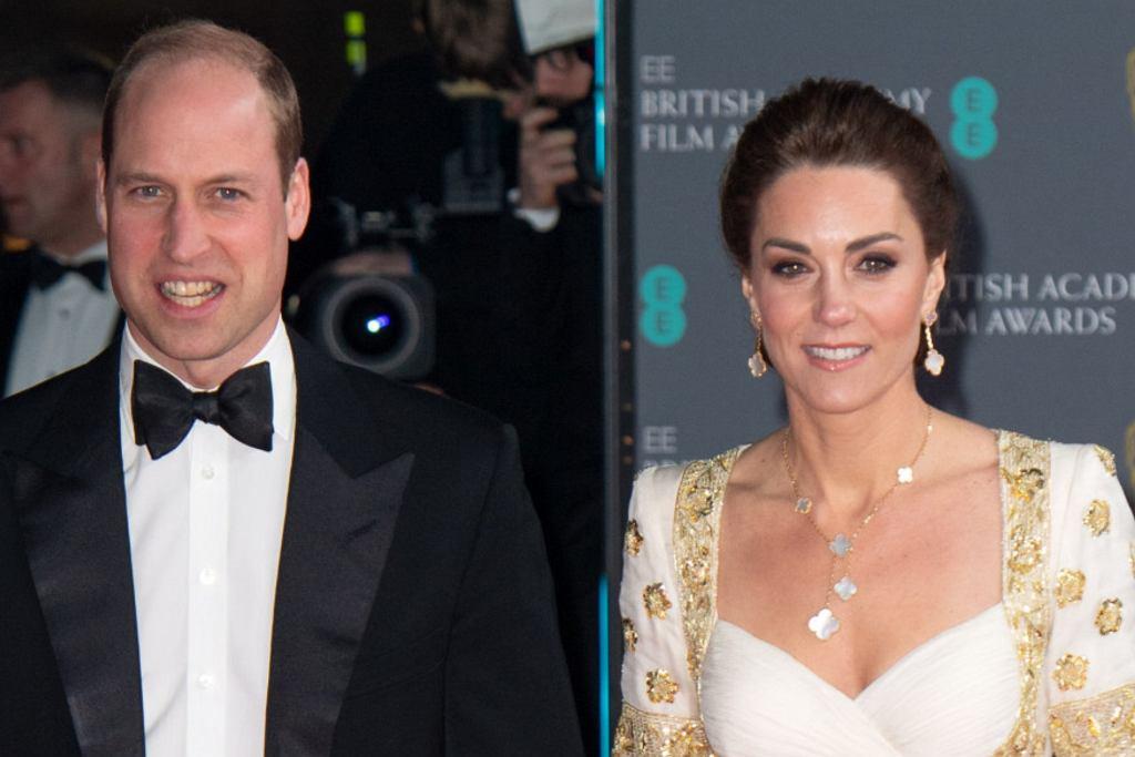 Księżna Kate i książę William na gali Bafta 2020