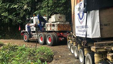 75 ton ładunku z Polski do Kolumbii. Gigantyczny zawór kulowy