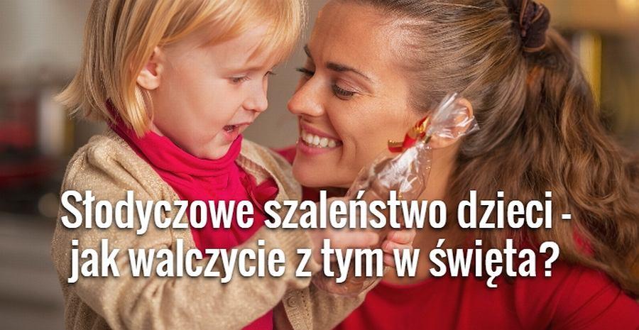 W święta dzieci dostają w prezencie słodycze