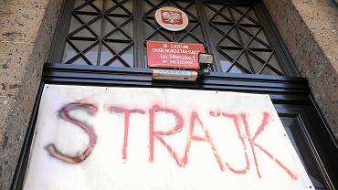 Strajk w II LO