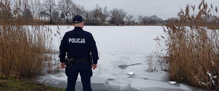 Kędzierzyn-Koźle. 29-latka chciała uratować psa. Załamał się pod nią lód