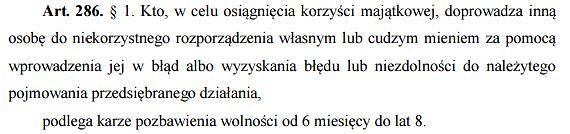 art. 286 KK