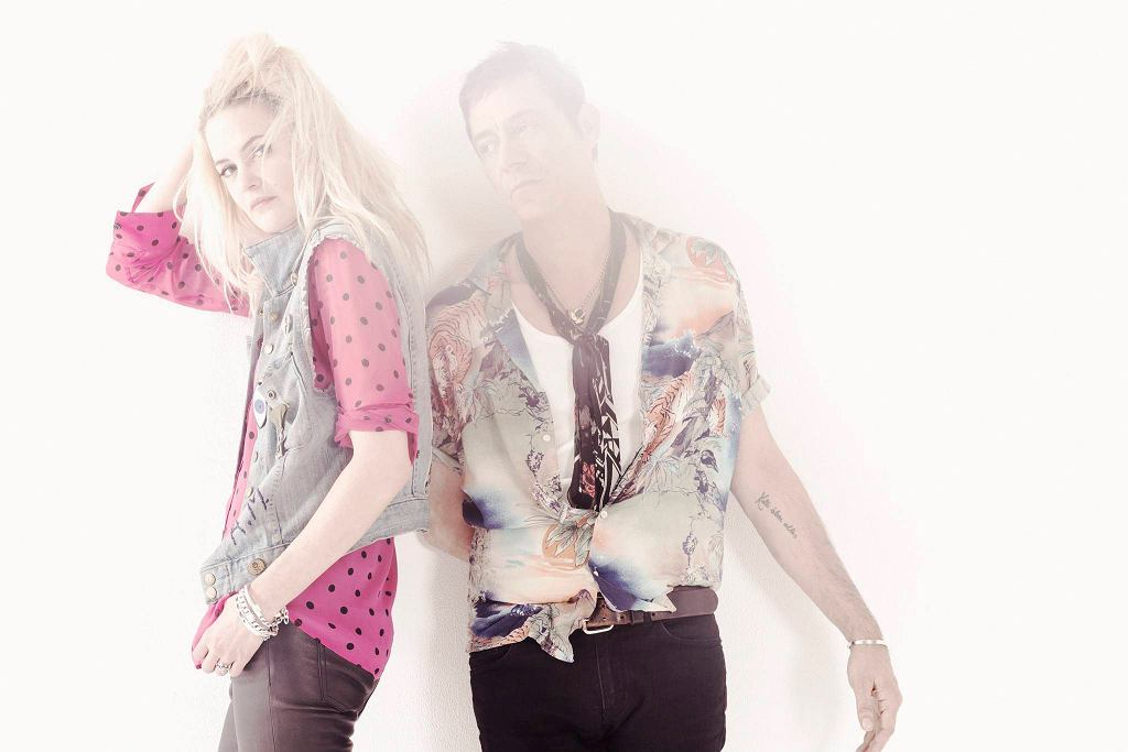 Alison Mosshart i Jamie Hince z The Kills / Alison Mosshart i Jamie Hince z The Kills