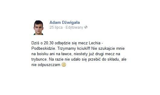 Adam Dźwigała - Facebook