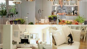 Przed remontem plamy intensywnych kolorów, po remoncie wysmakowana biel i miękkie kanapy. Mieszkanie Doroty Szelągowskiej jest ciepłe i przytulne. Sami zobaczcie! Pokazała je w programie Domo+.